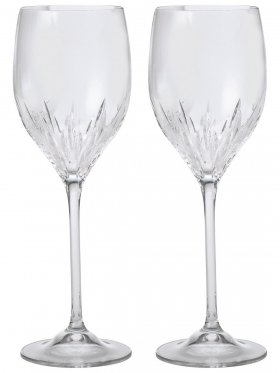 Wedgwood Vera Wang Duchesse Crystal Wine Pair