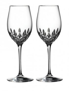 Waterford Crystal Lismore Essence White Wine Pair