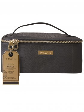 MOR Destination Luxe Prague Train Case - Navy