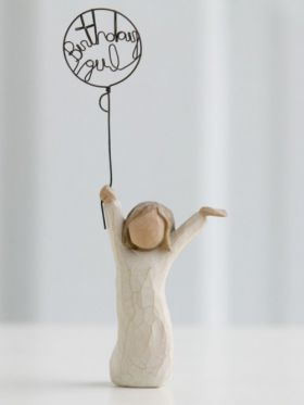 Willow Tree Figurine - Birthday Girl