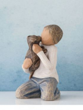 Willow Tree Figurine - Kindness Boy - Dark