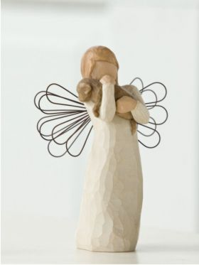 Willow Tree Figurine - Angel Of Friendship