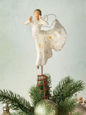 Willow Tree Figurine - Song Of Joy Tree Topper