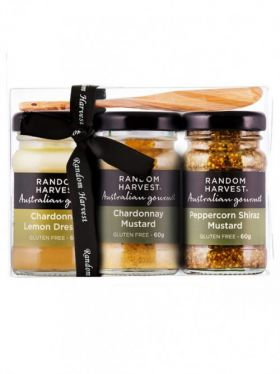 Random Harvest Mini-Me Food & Wine Gift Pack, 3 x 60g