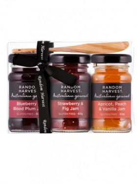 Random Harvest Mini-Me Jams Gift Pack, 3 x 60g