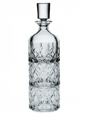 Bohemia Crystal Minister 3 Piece Whisky Set