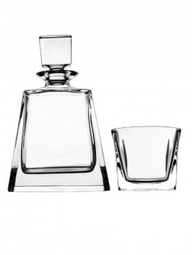 Bohemia Crystal Boston 3 Piece Whisky Set