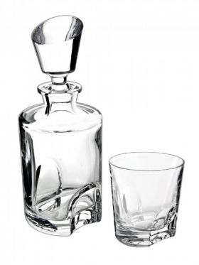 Bohemia Crystal Torneo 3 Piece Whisky Set