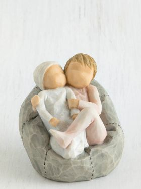 Willow Tree Figurine - My New Baby (blush)