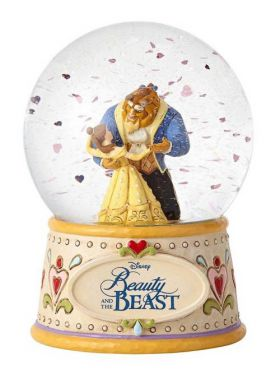 Disney Traditions Waterball - Moonlight Waltz - Beauty and the Beast