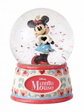 Disney Traditions Waterball - Sweetheart Minnie - I Heart You