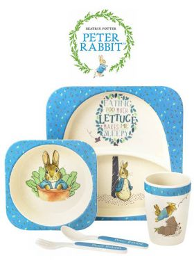 Peter Rabbit Organic Bamboo Dinner Set