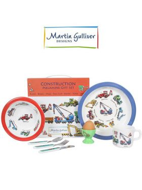 Martin Gulliver 7 Piece Children's Set - Construction