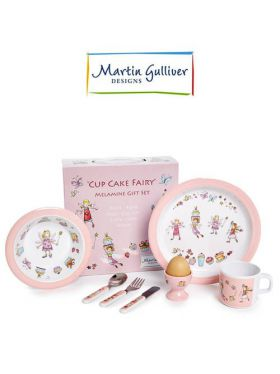 Martin Gulliver 7 Piece Children's Set - Cup Cake Fairy