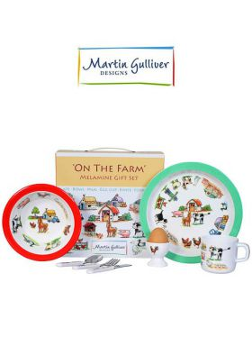 Martin Gulliver 7 Piece Children's Set - On The Farm
