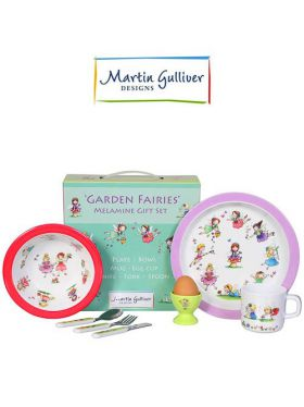 Martin Gulliver 7 Piece Children's Set - Garden Fairies
