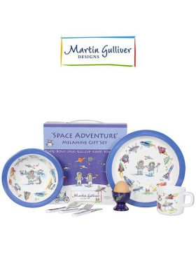 Martin Gulliver 7 Piece Children's Set - Space Adventure