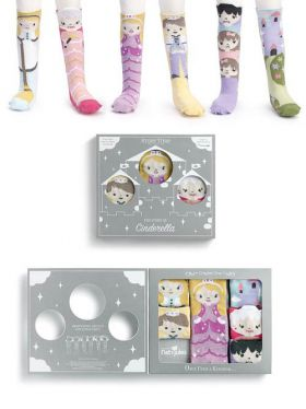 Story Time Knee Sock Gift Set - The Story of Cinderella