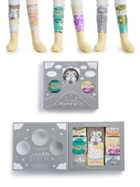 Story Time Knee Sock Gift Set - Wonderful Wizard of Oz