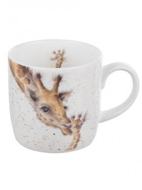 Royal Worcester First Kiss (Giraffe) Mug