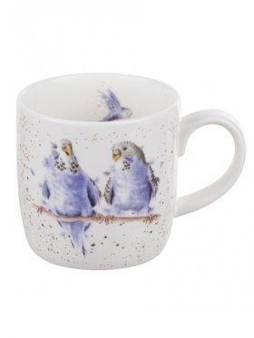 Royal Worcester Date Night (Budgie) Mug