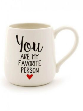 You are my Favorite Person Engraved Mug