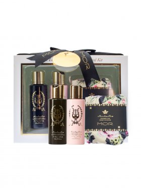 MOR Little Luxuries Marshmallow Travel Kit