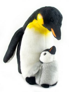 Nat & Jules - Plush Penguin Mum & Chick