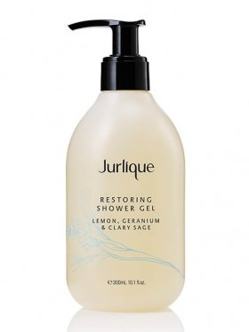 Jurlique Restoring Shower Gel 300ml - Lemon, Geranium & Clary Sage