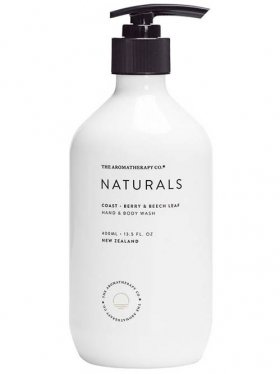 The Aromatherapy Co. Hand & Body Wash - Coast (Berry & Beech Leaf) 400ml