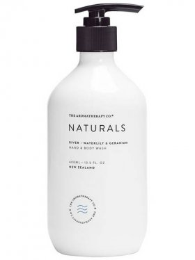 The Aromatherapy Co. Hand & Body Wash - River (Waterlily & Geranium) 400ml