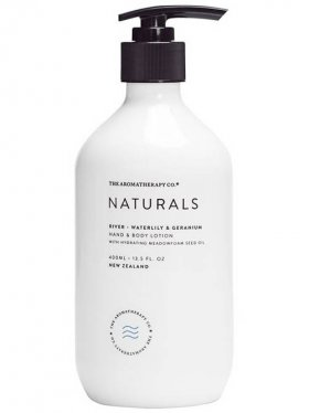 The Aromatherapy Co. Hand & Body Lotion - River (Waterlily & Geranium) 400ml