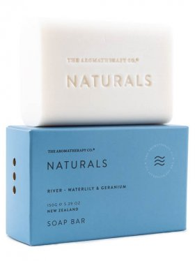 The Aromatherapy Co. Soap Bar - River (Waterlily & Geranium) 150g