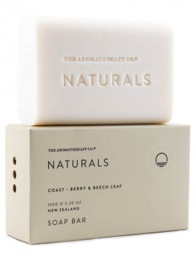 The Aromatherapy Co. Soap Bar - Coast (Berry & Beech Leaf) 150g