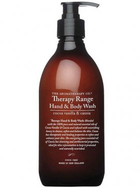 The Aromatherapy Co. Hand & Body Wash - Cocoa Vanilla & Cassia 500ml