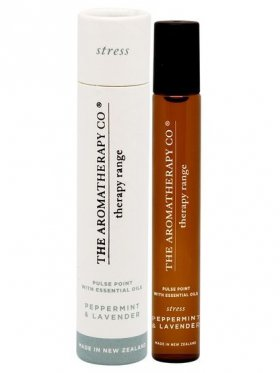 The Aromatherapy Co. Therapy Pulse Point - Stress (Peppermint & Lavender) 15ml