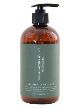 The Aromatherapy Co. Garden Hand & Body Lotion - Wild Lime & Mint 500ml