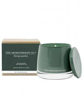 The Aromatherapy Co. Gardener Candle - Wild Lime & Mint 260g