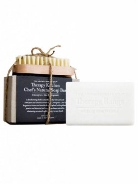 The Aromatherapy Co. Kitchen Chef's Natural Soap Bar & Nail Brush 150g