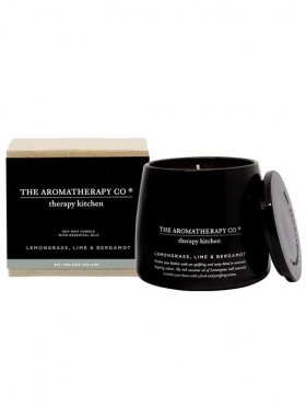 The Aromatherapy Co. Kitchen Candle - Lemongrass, Lime & Bergamot 200g