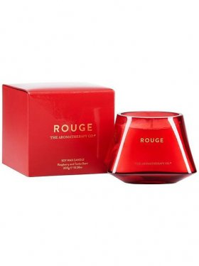 The Aromatherapy Co. Jewel Candle - Rouge (Raspberry & Tonka Bean) 300g