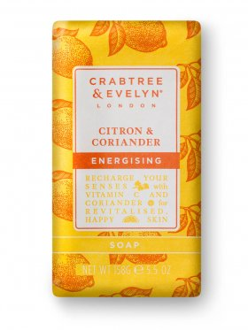 Crabtree & Evelyn Citron & Coriander Energising Soap 158g