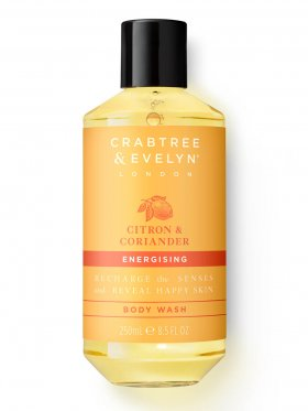 Crabtree & Evelyn Citron & Coriander Energising Body Wash 250ml