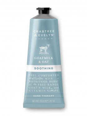 Crabtree & Evelyn Goatmilk & Oat Soothing Hand Therapy 100ml