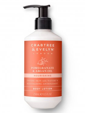 Crabtree & Evelyn Pomegranate & Argan Oil Nourishing Body Lotion 250ml