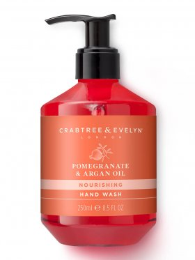 Crabtree & Evelyn Pomegranate & Argan Oil Nourishing Hand Wash 250ml