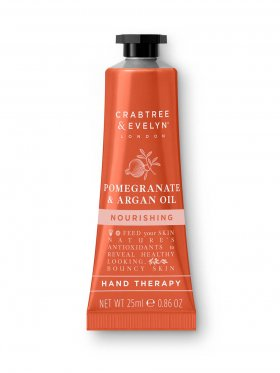 Crabtree & Evelyn Pomegranate & Argan Oil Nourishing Hand Therapy 25ml