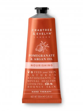 Crabtree & Evelyn Pomegranate & Argan Oil Nourishing Hand Therapy 100ml