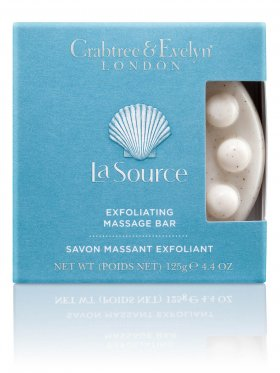 Crabtree & Evelyn La Source Exfoliating Massage Bar 125g