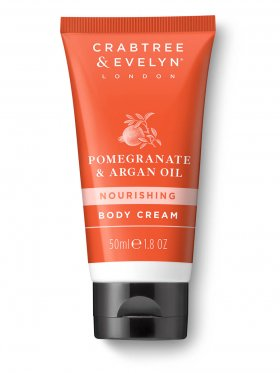 Crabtree & Evelyn Pomegranate & Argan Oil Nourishing Body Cream 50ml